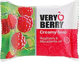 Düfte, Parfümerie und Kosmetik Cremeseife - Very Berry Raspberry & Macadamia Oil