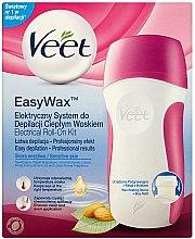 Düfte, Parfümerie und Kosmetik Haarentfernungsset für Damen - Veet Easy Wax Electrical Roll On