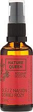 Kosmetisches Hagebuttenöl - Nature Queen Rosehip Seed Oil — Bild N3