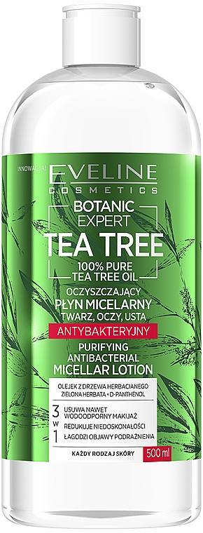 Mizellenwasser mit Teebaum - Eveline Cosmetics Botanic Expert Tea Tree Miccelar Lotion — Bild N1