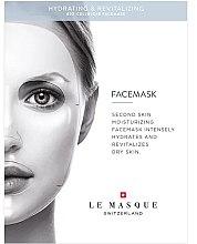 Düfte, Parfümerie und Kosmetik Feuchtigkeitsspendende und revitalisierende Zellulose-Gesichtsmaske - Le Masque Switzerland Hydrating & Revitalizing Face Mask