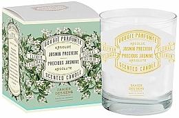 """Düfte, Parfümerie und Kosmetik Panier Des Sens Precious Jasmine - Duftkerze im Glas """"Ein ruhiger und stiller Ort"""""""
