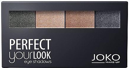 Lidschatten-Quartett - Joko Perfect Your Look Quattro Eye Shadows New — Bild N1