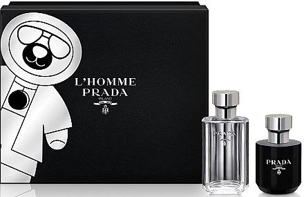 Prada L'Homme Prada - Set (edt/50ml + sh/gel/100ml) — Bild N1