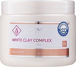 Düfte, Parfümerie und Kosmetik Beruhigende und feuchtigkeitsspendende Gesichtsmaske mit weißer Tonerde - Charmine Rose White Clay Complex