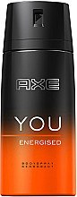 "Düfte, Parfümerie und Kosmetik Deospray ""You Energised"" - Axe You Energised Deodorant Spray"