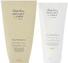 Düfte, Parfümerie und Kosmetik Bath House Bergamot & Amber - Feuchtigkeitsspendende Gesichtscreme mit Macadamiasamenöl und Aloe Vera
