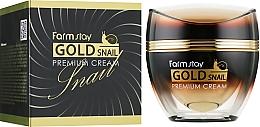 Düfte, Parfümerie und Kosmetik Gesichtscreme mit Gold- und Schneckenmucin - FarmStay Gold Snail Premium Cream