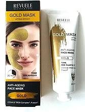 Düfte, Parfümerie und Kosmetik Gesichtsmaske - Revuele Gold Face Mask Lifting Effect Anti-Age