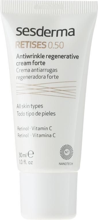 Regenerierende Anti-Falten Gesichtscreme mit Retinol und Vitamin C - SesDerma Laboratories Retises 0.50% Antiwrinkle Regenerative Cream Forte — Bild N2