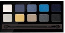 Düfte, Parfümerie und Kosmetik Lidschattenpalette mit 10 Farben - Pierre Rene Palette Match System Eyeshadow Sunny Niagara