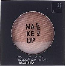 Düfte, Parfümerie und Kosmetik Gesichtsbronzer - Make up Factory Touch Of Tan Bronzer