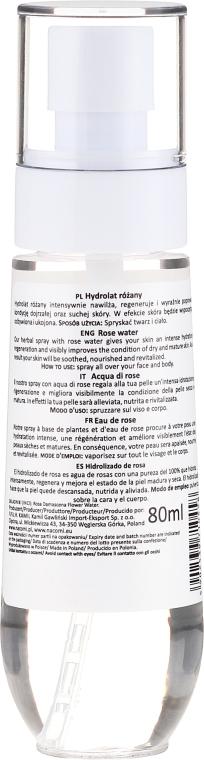 Rosenhydrolat - Nacomi Hydrolate Rose Water — Bild N2