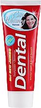 Düfte, Parfümerie und Kosmetik Intensiv aufhellende Zahnpasta - Dental Hot Red Jumbo Extra Whitening Toothpaste