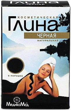 Natürlicher kosmetischer schwarzer Ton - MedikoMed — Bild N1