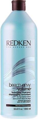 Volumen-Shampoo für feines Haar - Redken Volume Beach Envy Texturizing Shampoo — Bild N2