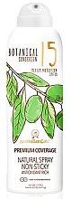 Düfte, Parfümerie und Kosmetik Natürliches Sonnenschutzspray SPF 15 - Australian Gold Botanical Sunscreen Premium Coverage Natural Spray SPF 15