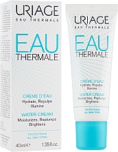 Düfte, Parfümerie und Kosmetik Feuchtigkeitsspendende und hypoallergene Gesichtscreme für normale bis Mischhaut - Uriage Eau Thermale Water Cream