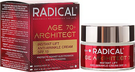 Straffende Anti-Falten Gesichtscrme 70+ - Farmona Radical Age Architect Cream 70+ SPF 15 — Bild N4