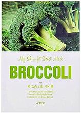 Düfte, Parfümerie und Kosmetik Tuchmaske mit Brokkoliextrakt - A'pieu My Skin-Fit Sheet Mask Sea Broccoli
