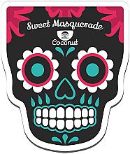 Feuchtigkeitsspendende und nährende Tuchmaske mit Kokosextrakt und Milchproteinen - Dr Mola Sweet Masquerade Coconut Mask — Bild N1