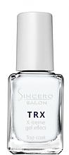 Düfte, Parfümerie und Kosmetik Nagelüberlack mit Gel-Effekt - Sincero Salon TRX Gel Effect Top Coat