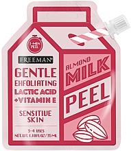 Düfte, Parfümerie und Kosmetik Gesichtspeeling mit Mandelmilch für empfindliche Haut - Freeman Almond Milk Peel