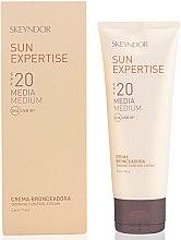 Düfte, Parfümerie und Kosmetik Wasserfeste Sonnenschutzcreme für das Gesicht SPF 20 - Skeyndor Sun Expertise Tanning Control Cream SPF20