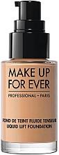 Düfte, Parfümerie und Kosmetik Flüssige straffende Foundation - Make Up For Ever Liquid Lift Foundation