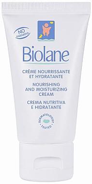 Pflegende und feuchtigkeitsspendende Baby-Creme - Biolane Baby Nourishing and Moisturizing Cream — Bild N1