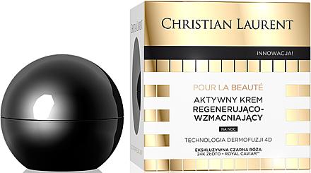Regenerierende Nachtcreme für das Gesicht - Christian Laurent Pour La Beaute Exclusive Active Regenerating & Strenghtening Cream — Bild N1