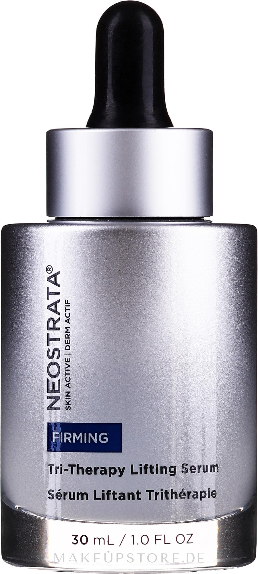 Lifting-Gesichtsserum mit Hyaluronsäure - NeoStrata Skin Active Tri-Therapy Lifting Serum — Bild 30 ml