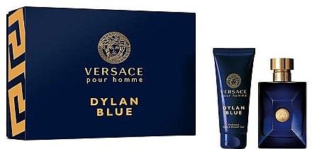 Versace Pour Homme Dylan Blue - Duftset (Eau de Toilette/100ml + Duschgel/150ml) — Bild N1