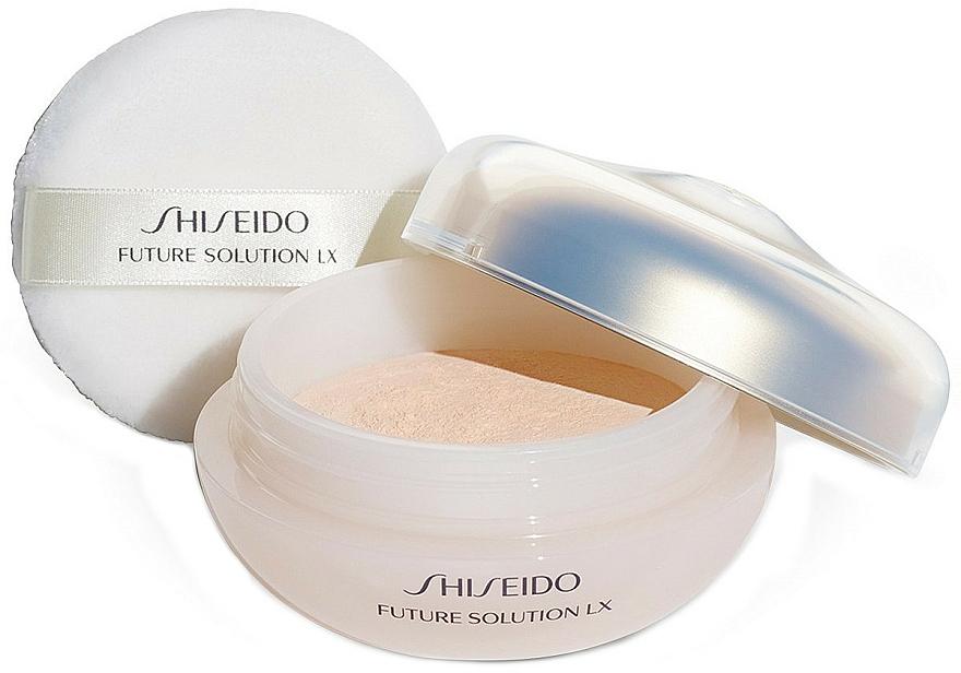 Loser Gesichtspuder mit Glow-Effekt - Shiseido Future Solution LX Total Radiance Loose Powder — Bild N3