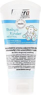 Baby & Kinder Wundschutzcreme mit Zink und Bio-Pflanzenölen für empfindlichen bis neurodermitischen Hautpartien - Lavera Cream — Bild N2