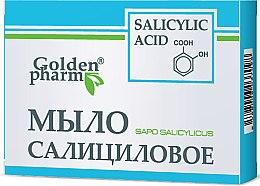 Düfte, Parfümerie und Kosmetik Seife mit Salicylsäure - Golden Pharm
