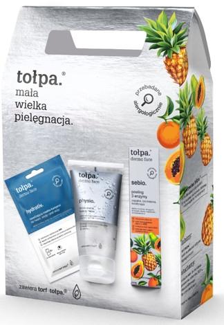 Gesichtspflegeset - Tolpa Dermo Face (Gesichtsmaske 2x6ml + Gesichtsmaske 40ml + Gesichtsgel 150ml) — Bild N1