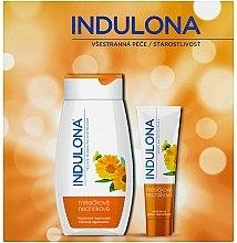 Düfte, Parfümerie und Kosmetik Körperpflegeset - Indulona Calendula (Körpermilch 250ml + Handcreme 85ml)