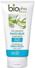 Düfte, Parfümerie und Kosmetik Erfrischendes Reinigungsgel für das Gesicht mit Aloe Vera - Biopha Nature Gel Detergente Freschezza