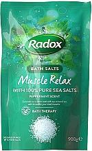 Düfte, Parfümerie und Kosmetik Entspannendes Badesalz mit Pfefferminzduft - Radox Bath Salts Muscle Relax Peppermint Scent