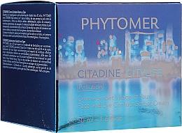 Düfte, Parfümerie und Kosmetik Schützende, reparierende und feuchtigkeitsspendende Gesichts- und Augenkonturcreme mit Sorbet-Textur - Phytomer Citylife