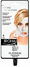 Düfte, Parfümerie und Kosmetik Peel-Off Maske mit Platinum - Iroha Nature Platinum Peel Off Mask Glowing 4 Uses
