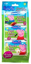Düfte, Parfümerie und Kosmetik Feuchttücher für Gesicht und Hände - Kokomo Peppa Pig Peppa Hand & Face Wipes