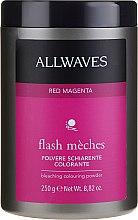 Düfte, Parfümerie und Kosmetik Aufhellendes Farbpulver - Allwaves Flash Maches Bleaching Colouring Powder