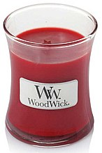 Düfte, Parfümerie und Kosmetik Duftkerze im Glas Pomegranate - WoodWick Hourglass Candle Pomegranate