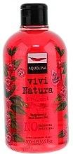 Düfte, Parfümerie und Kosmetik Duschgel - Aquolina Vivi Natura Elegant Peony Petals Bath Shower Gel