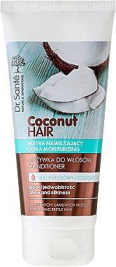 "Haarspülung ""Shine and Silkiness"" - Dr. Sante Coconut Hair — Bild N5"