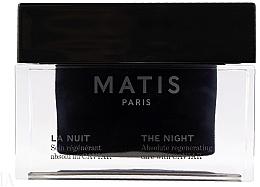 Düfte, Parfümerie und Kosmetik Regenerierende Nachtcreme mit Kaviarextrakt - Matis Reponse Caviar The Night