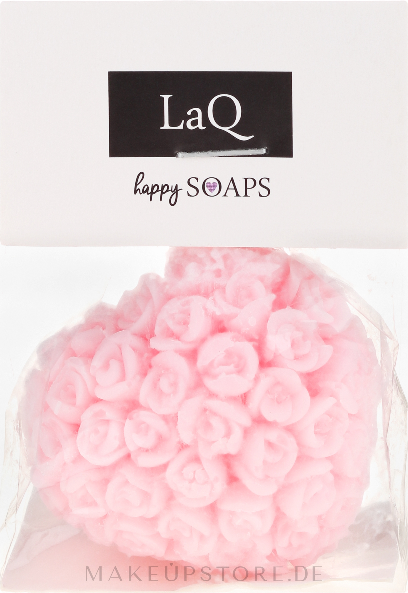 Handgemachte Naturseife Herz mit Kirschduft - LaQ Happy Soaps Natural Soap — Bild 140 g