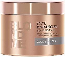 Düfte, Parfümerie und Kosmetik Aufbauende Intensivkur für kalte Blondtöne - Schwarzkopf BlondMe Tone Enhancing Bonding Mask
